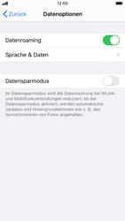 Apple iPhone 7 - iOS 14 - Internet und Datenroaming - Deaktivieren von Datenroaming - Schritt 5