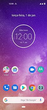 Motorola One Vision - Chamadas - Como bloquear chamadas de um número específico - Etapa 2