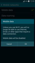 Samsung G850F Galaxy Alpha - Internet - Disable mobile data - Step 7