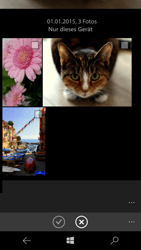 Microsoft Lumia 950 - MMS - Erstellen und senden - 1 / 1