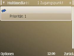 Nokia E72 - MMS - Manuelle Konfiguration - Schritt 15