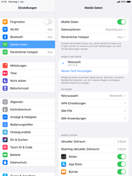 Apple iPad 9.7 (2017) - iPadOS 13 - Internet und Datenroaming - Manuelle Konfiguration - Schritt 8
