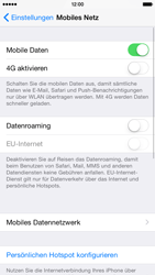 Apple iPhone 6 iOS 8 - Internet und Datenroaming - Manuelle Konfiguration - Schritt 9
