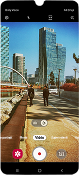 Samsung Galaxy A70 - Photos, vidéos, musique - Créer une vidéo - Étape 12