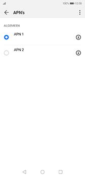 Huawei P20 - Android Pie - internet - handmatig instellen - stap 15