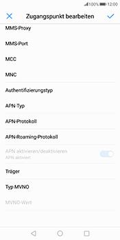 Huawei Mate 10 Pro - Internet und Datenroaming - Manuelle Konfiguration - Schritt 11