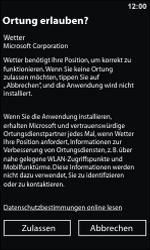 Nokia Lumia 800 - Apps - Konto anlegen und einrichten - 9 / 22