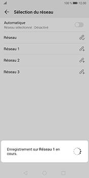 Huawei Mate 10 Pro - Android Pie - Réseau - Sélection manuelle du réseau - Étape 10