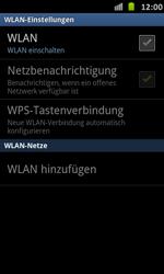 Samsung Galaxy S Advance - WiFi - WiFi-Konfiguration - Schritt 6