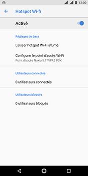 Nokia 5.1 - Internet - comment configurer un point d'accès mobile - Étape 11