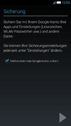 Alcatel Idol S - Apps - Konto anlegen und einrichten - 23 / 25