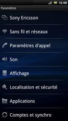 Sony Xperia Arc - Messagerie vocale - Configuration manuelle - Étape 4