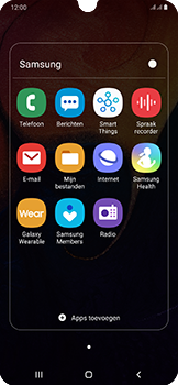 Samsung Galaxy A50 - e-mail - handmatig instellen - stap 4