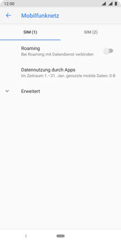 Nokia 9 - Ausland - Im Ausland surfen – Datenroaming - Schritt 9