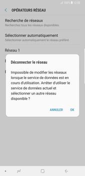 Samsung Galaxy Note9 - Réseau - Sélection manuelle du réseau - Étape 11