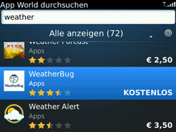 BlackBerry Bold - Apps - Herunterladen - 1 / 1