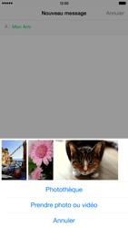 Apple iPhone 6 Plus iOS 8 - MMS - envoi d'images - Étape 8