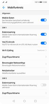 Huawei P20 Lite - Ausland - Auslandskosten vermeiden - 7 / 8