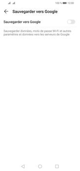 Huawei P30 Lite - Données - créer une sauvegarde avec votre compte - Étape 6