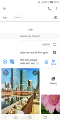 Huawei Y5 (2018) - MMS - afbeeldingen verzenden - Stap 12