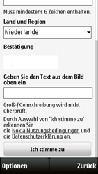 Nokia 5230 - Apps - Konto anlegen und einrichten - 13 / 15