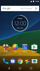 Reiniciar | Reset desligado | Moto G5 | Motorola