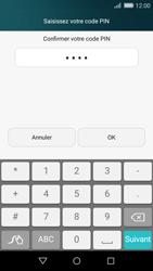 Huawei P8 Lite - Sécuriser votre mobile - Activer le code de verrouillage - Étape 9
