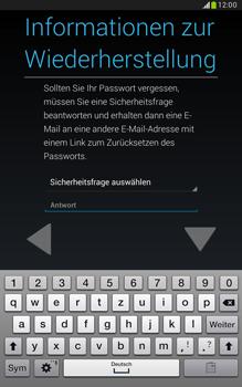 Samsung N5100 Galaxy Note 8-0 - Apps - Konto anlegen und einrichten - Schritt 12