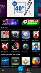BlackBerry Leap - Apps - Konto anlegen und einrichten - 4 / 14