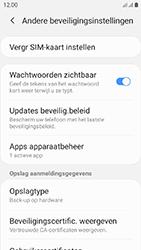 Samsung galaxy-xcover-4s-dual-sim-sm-g398fn - Beveiliging en ouderlijk toezicht - Hoe wijzig ik mijn SIM PIN-code - Stap 6