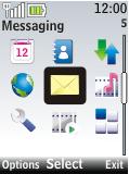 Nokia 2720 fold - E-mail - Sending emails - Step 3