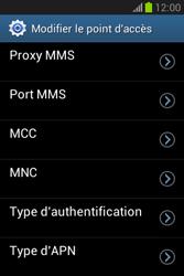 Samsung S6790 Galaxy Fame Lite - Internet - configuration manuelle - Étape 16