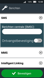 Doro 8031 - SMS - SMS-centrale instellen - Stap 8