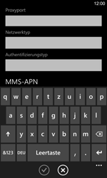 Nokia Lumia 925 - Internet - Manuelle Konfiguration - 0 / 0