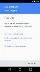 LG LG X Screen - apps - account instellen - stap 3