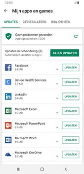 Samsung Galaxy S9 Plus - Android Pie - Apps - apps updaten - Stap 7