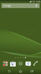 Sony Xperia Z3 - Operazioni iniziali - Installazione di widget e applicazioni nella schermata iniziale - Fase 10