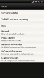 HTC One S - Software - Installing software updates - Step 7