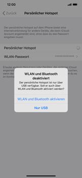 Apple iPhone XR - iOS 13 - WiFi - So aktivieren Sie einen WLAN-Hotspot - Schritt 7