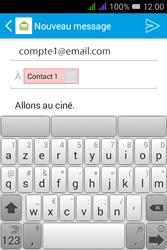 Alcatel Pixi 3 Dual Sim - E-mails - Envoyer un e-mail - Étape 9