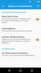 Sony E5603 Xperia M5 - Fehlerbehebung - Handy zurücksetzen - Schritt 7