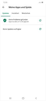 Samsung Galaxy Note 20 5G - Apps - Nach App-Updates suchen - Schritt 8