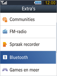 Samsung B3410 Star Qwerty - Bluetooth - Headset, carkit verbinding - Stap 4