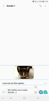 Samsung Galaxy J4+ - MMS - Erstellen und senden - Schritt 22