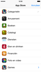 Apple iPhone 5 (iOS 8) - apps - app store gebruiken - stap 5
