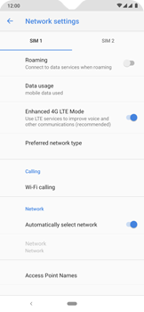 Nokia 6.2 - WiFi - Enable WiFi Calling - Step 9