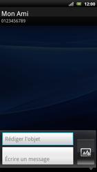 Sony Xperia Arc S - MMS - Envoi d