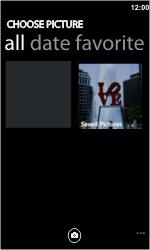 LG E900 Optimus 7 - MMS - Sending pictures - Step 5
