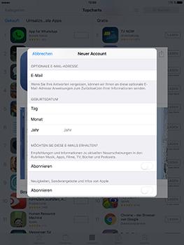 Apple iPad Mini 4 - Apps - Konto anlegen und einrichten - 25 / 35
