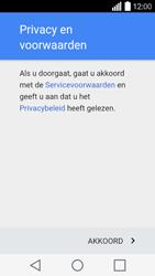 LG Leon 3G (H320) - apps - account instellen - stap 9
